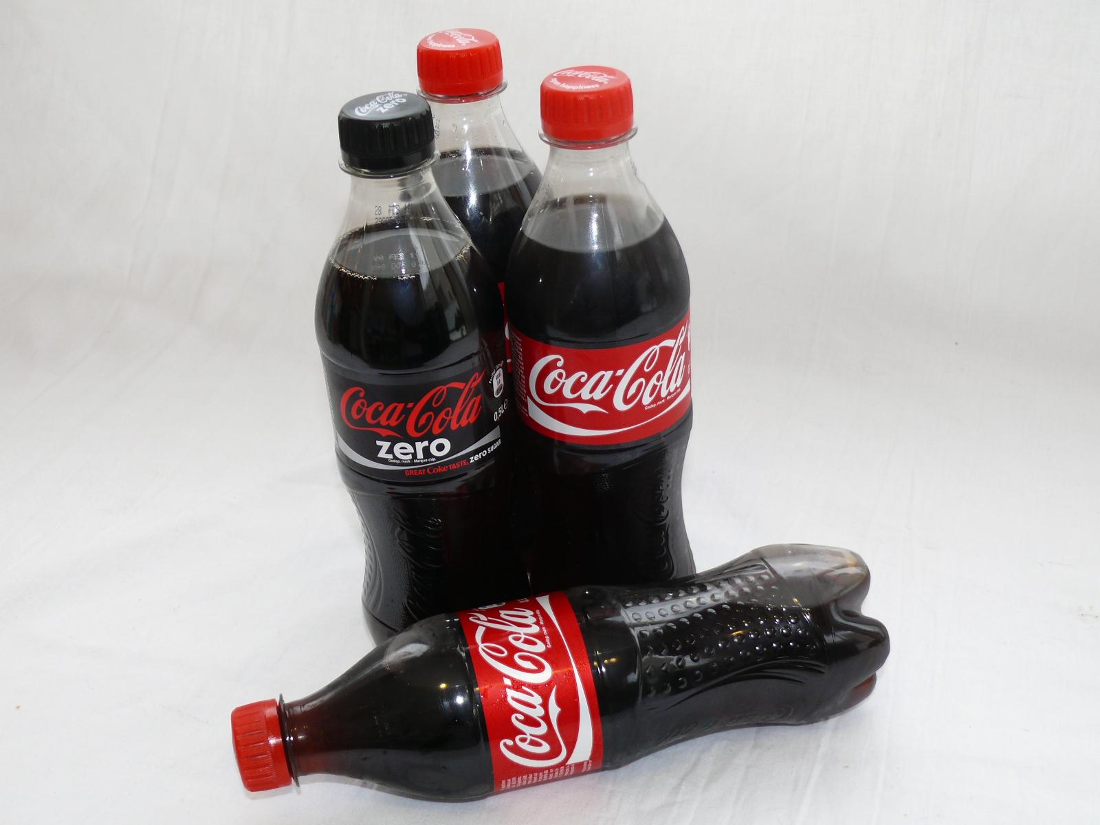 Glitter plaatjes Coca cola