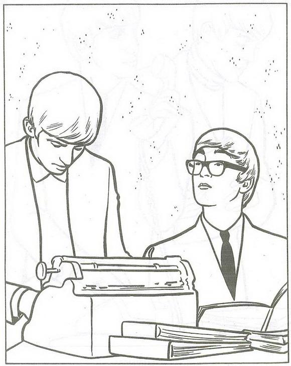 Beatles Kleurplaten Beroemdheden kleurplaten