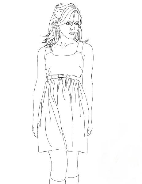 Emma Watson Kleurplaten 187 Animaatjes Nl