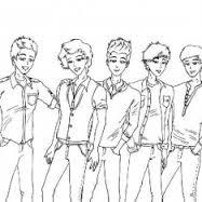Kleurplaten Van One Direction.One Direction Kleurplaten Animaatjes Nl