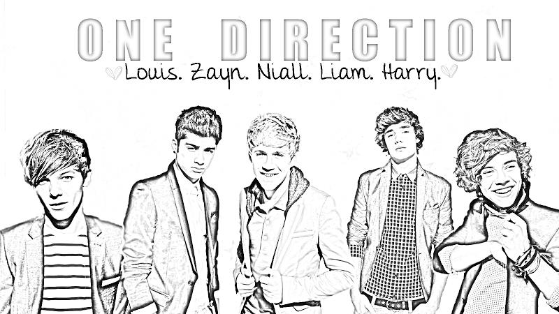 Kleurplaten One Direction Niall.Kleurplaat Beroemdheden Kleurplaat One Direction Animaatjes Nl