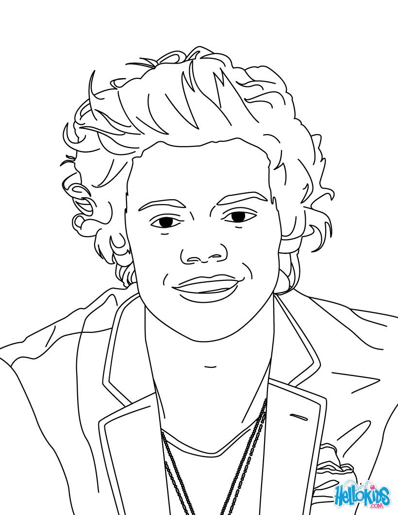 One Direction Kleurplaten Animaatjes Nl