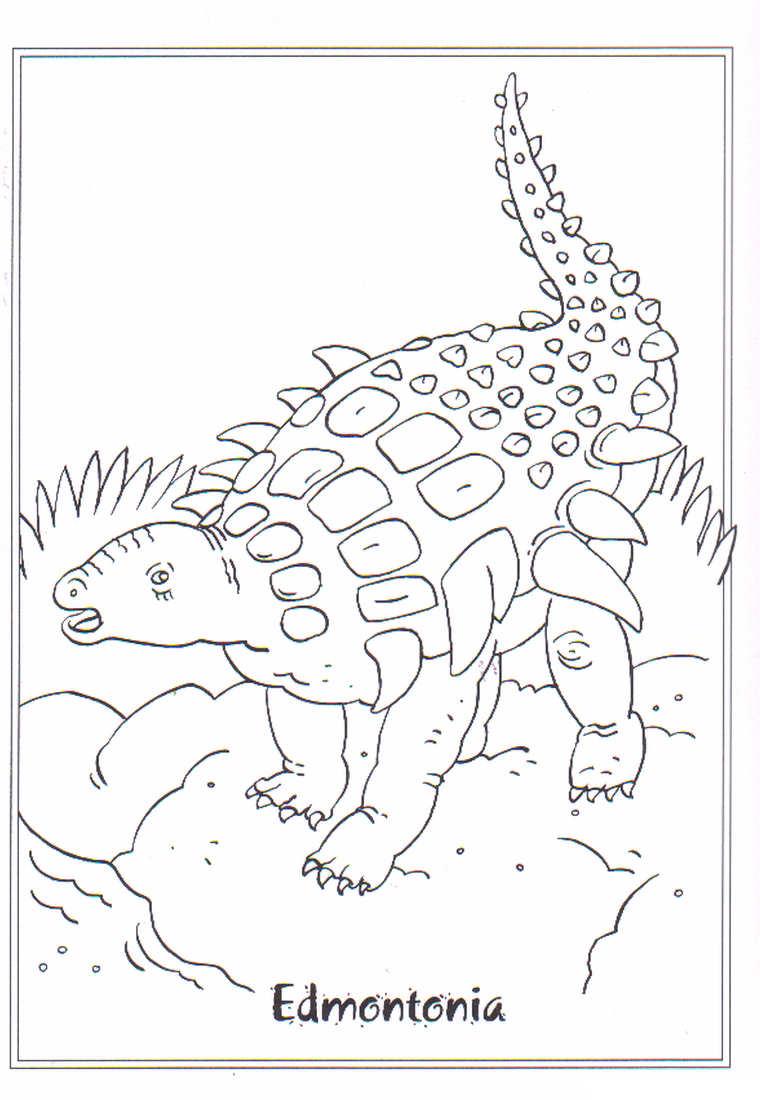 Dinosaurus Kleurplaat Dieren Kleurplaat 187 Animaatjes Nl
