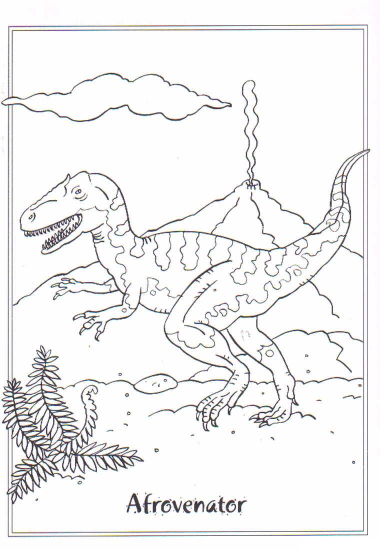 xenotarsosaurus dinosaur coloring pages - photo#33