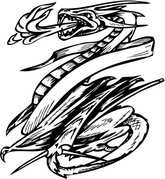 Kleurplaten Draken Dieren kleurplaten