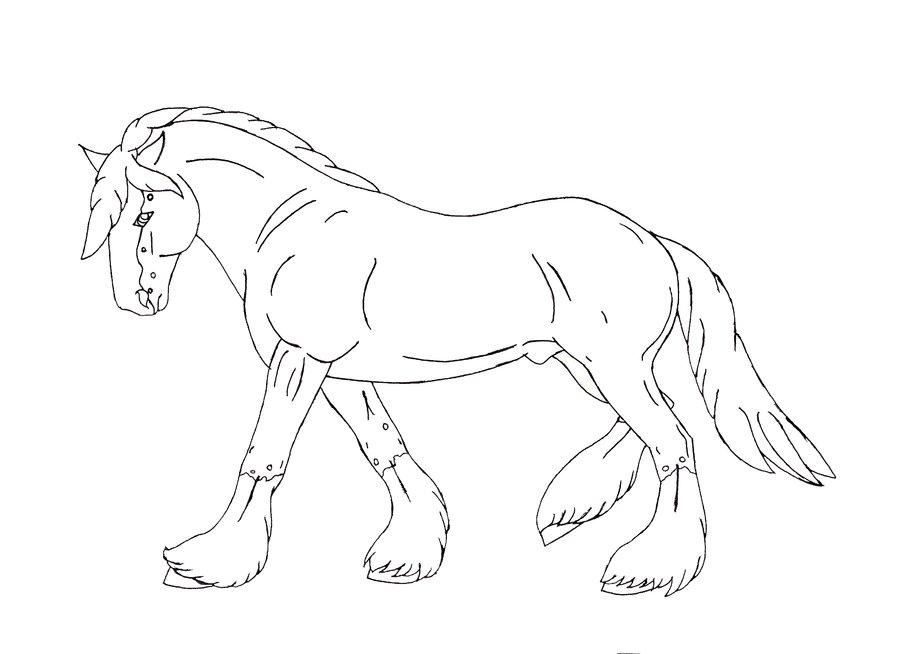 paarden kleurplaat dieren kleurplaat » animaatjes.nl