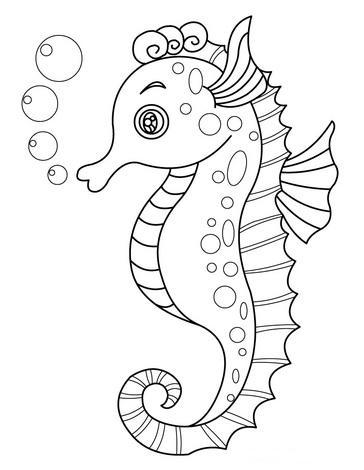 Kleurplaten Dieren kleurplaten Zeedieren