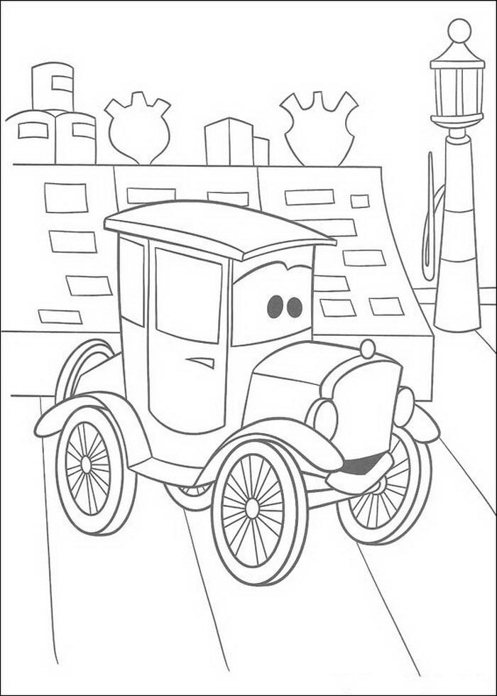 Kleurplaten A4 Disney.Cars Kleurplaat Disney Kleurplaat Animaatjes Nl