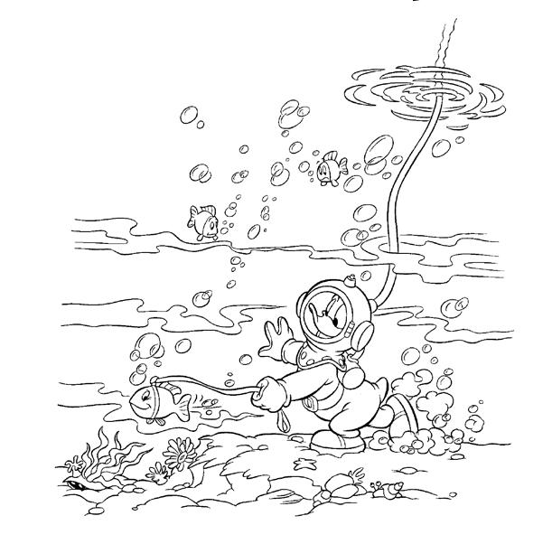 Kerst Kleurplaten Afdrukken Donald Duck Kleurplaat Disney Kleurplaat 187 Animaatjes Nl