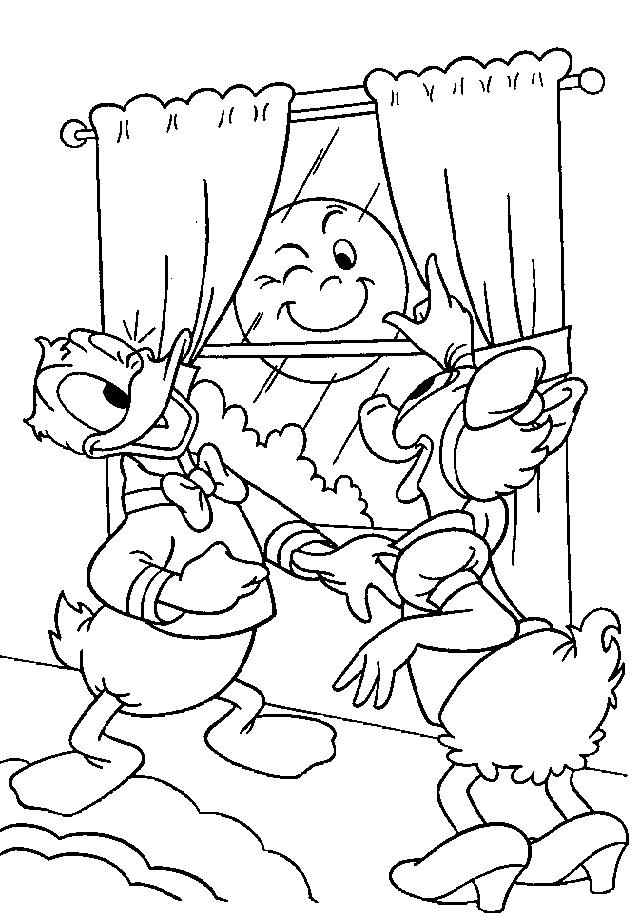 Donald Duck Kleurplaat Disney Kleurplaat 187 Animaatjes Nl