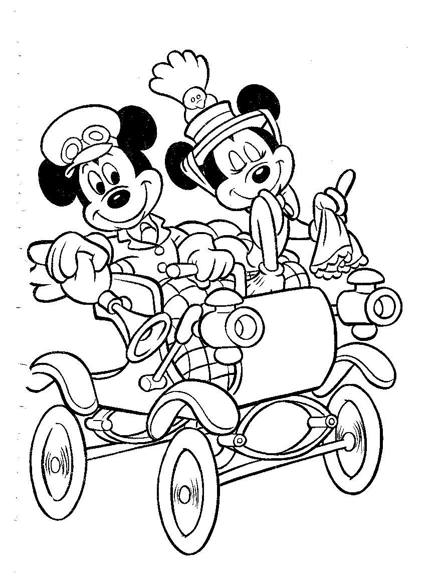 Mickey Mouse Kleurplaat Disney Kleurplaat » Animaatjes.nl