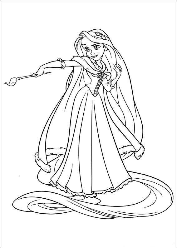 Kleurplaten Rapunzel.Rapunzel Kleurplaat Disney Kleurplaat Animaatjes Nl