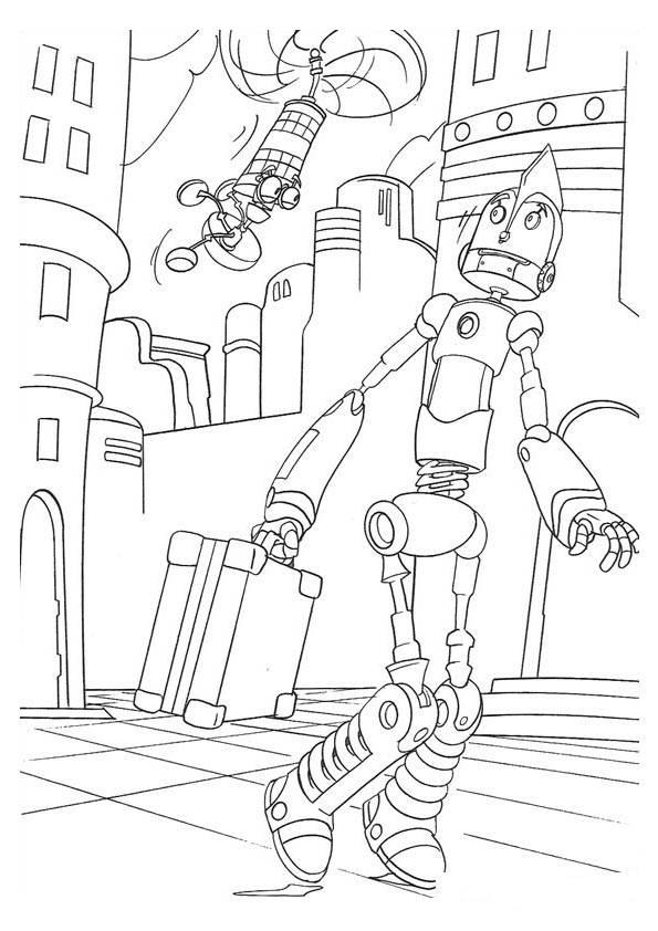 robots movie coloring pages - robots kleurplaat disney kleurplaat