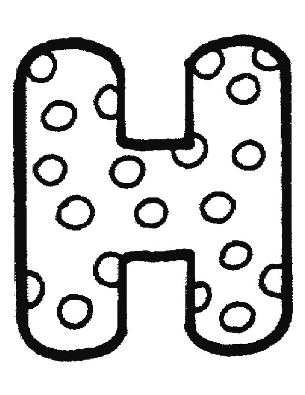 kleurplaat alfabet stippen  u00bb animaatjes nl