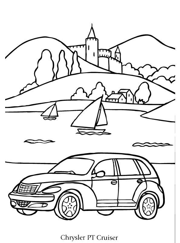 Kleurplaten Automerken