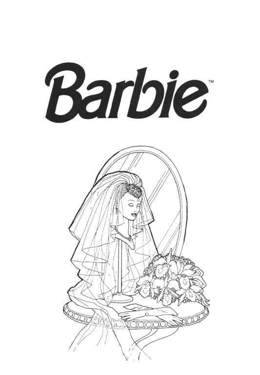Barbie Kleurplaten Animaatjes Nl