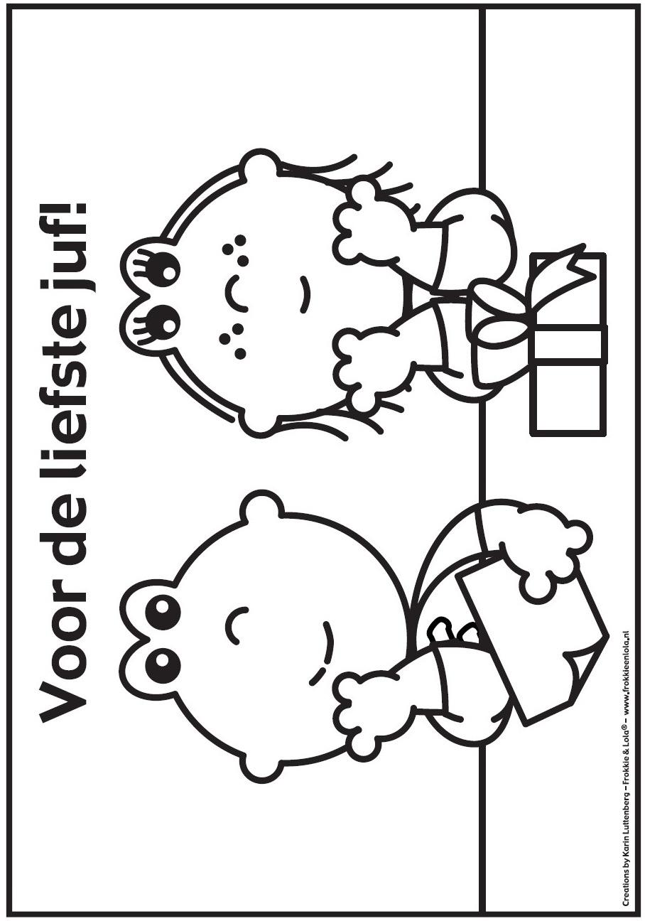 kleurplaat frokkie en lola 187 animaatjes nl