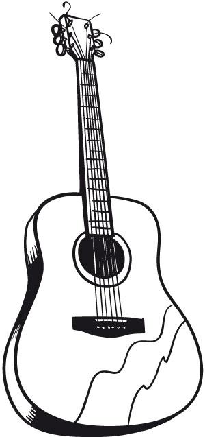 gitaar kleurplaten 187 animaatjes nl