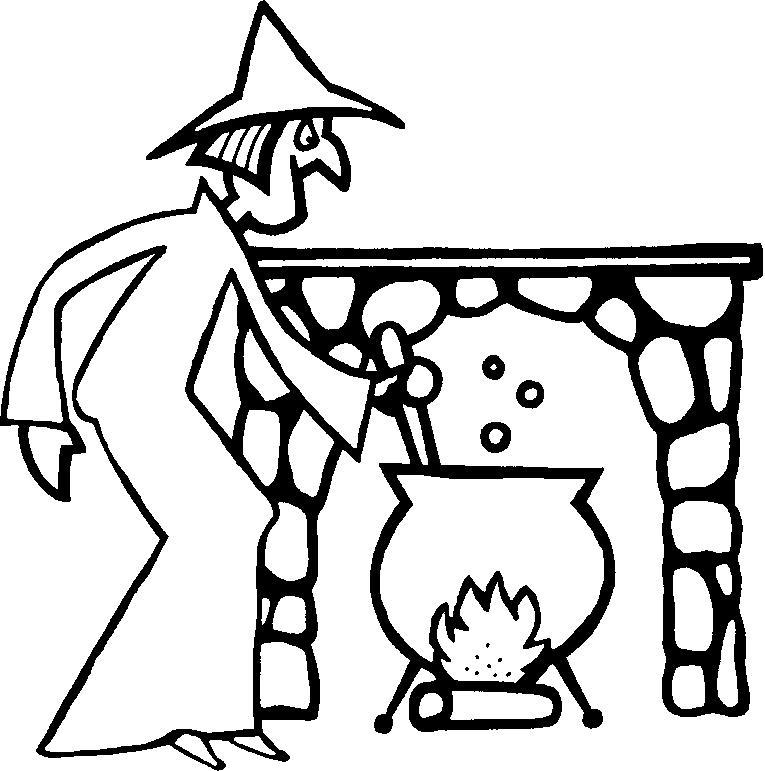 Heksen Kleurplaten