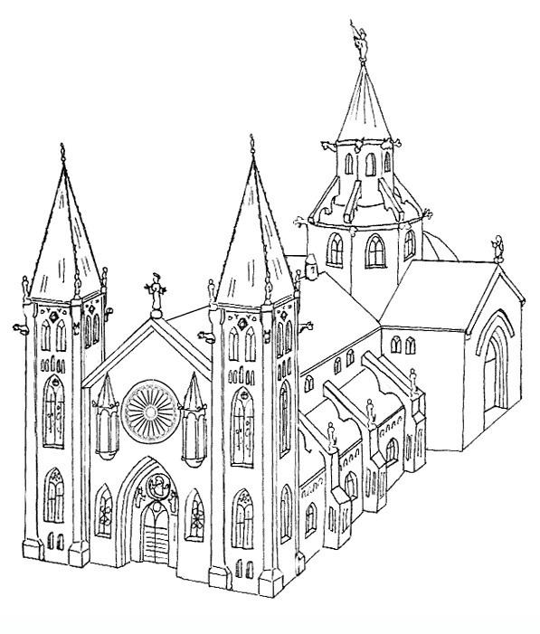 Kerken Kleurplaten 187 Animaatjes Nl