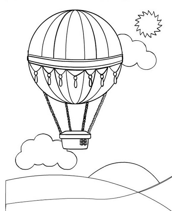 leuke luchtballon kleurplaat wielostditop nl