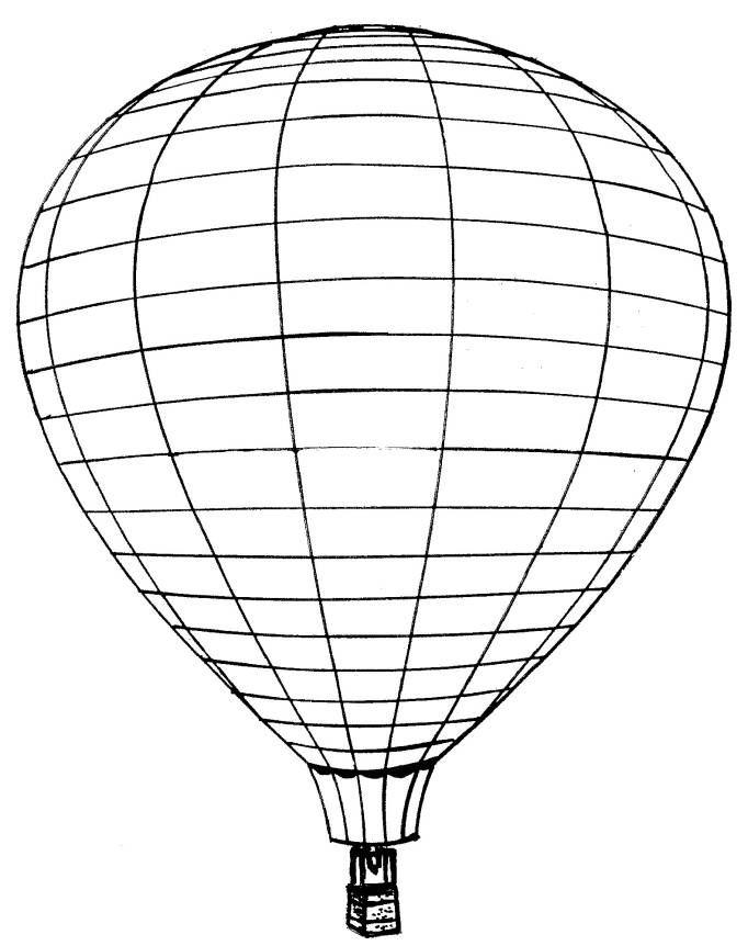 Kleurplaten Luchtballonnen