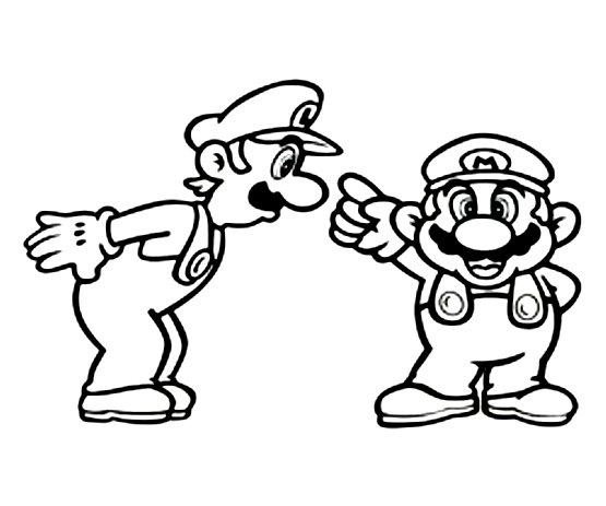 Mario Kleurplaat 187 Animaatjes Nl
