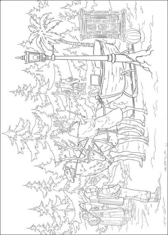 Kleurplaten The chronicles of narnia
