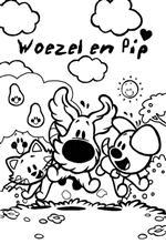 Woezel En Pip Kleurplaten 187 Animaatjes Nl