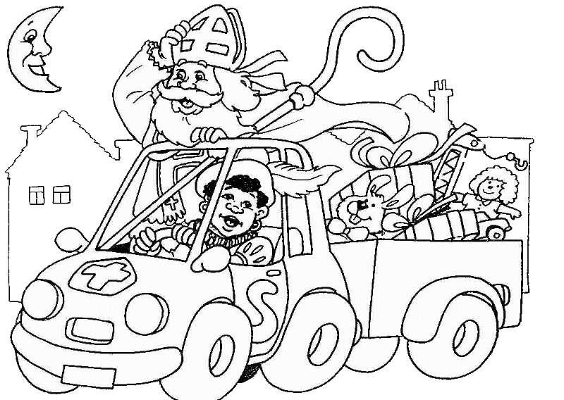 Eggo Keukens St Niklaas : Sinterklaas En Zwarte Piet Kleurplaten Animaatjes nl