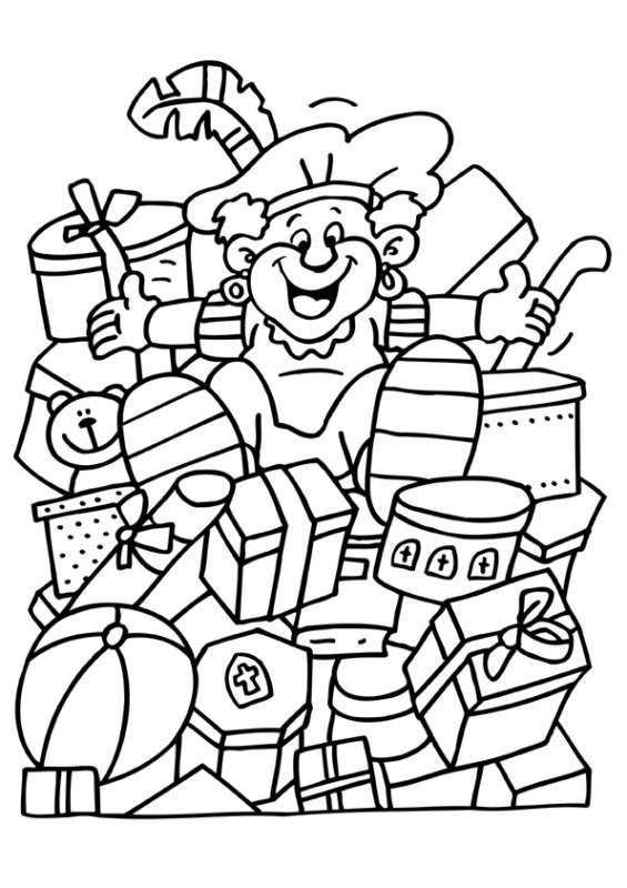 Disney Kleurplaten Sinterklaas.Kleurplaat Sinterklaas Kleurplaat Sinterklaas Speelgoed Animaatjes Nl