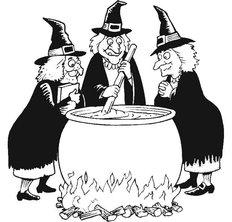Halloween Speciale dagen Kleurplaten