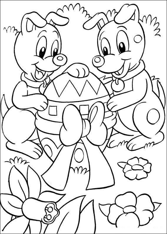 Speciale Dagen Pasen Kleurplaat Animaatjes Nl