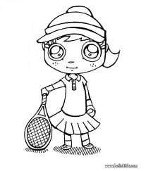 tennis kleurplaten 187 animaatjes nl