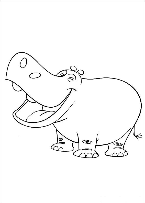 curious george jungle coloring pages - photo#21