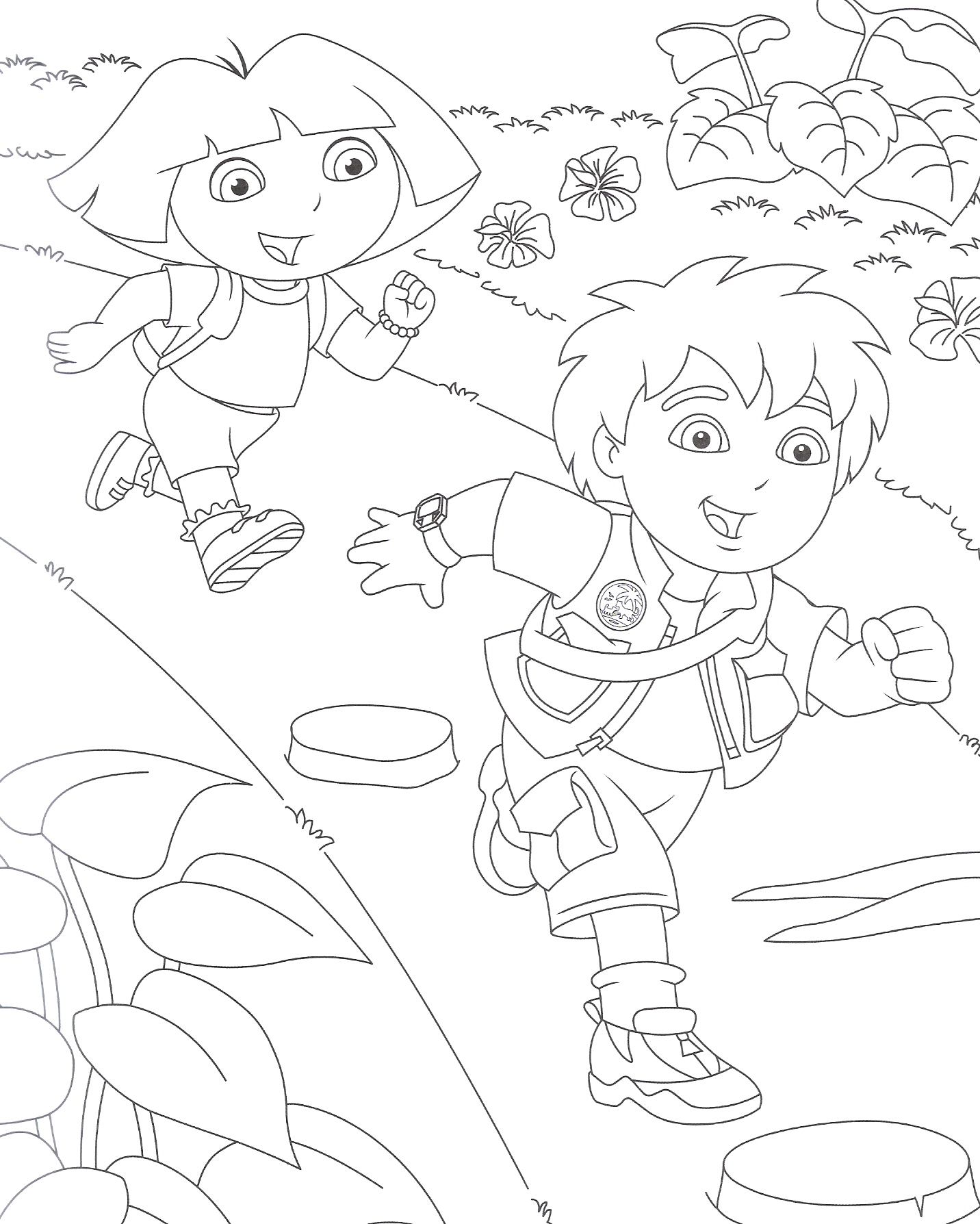 robby and mak coloring pages - photo#16