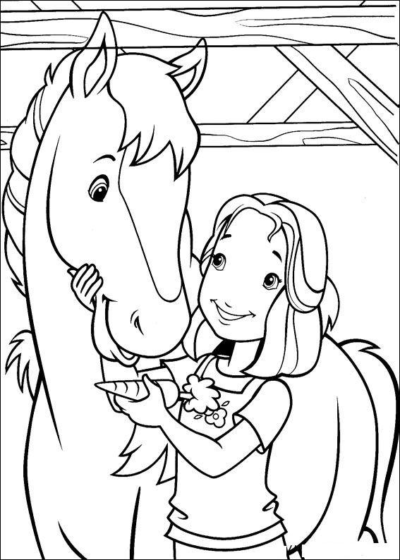 Kleurplaat tv series kleurplaat holly hobbie - Dessin de chevaux a imprimer gratuit ...