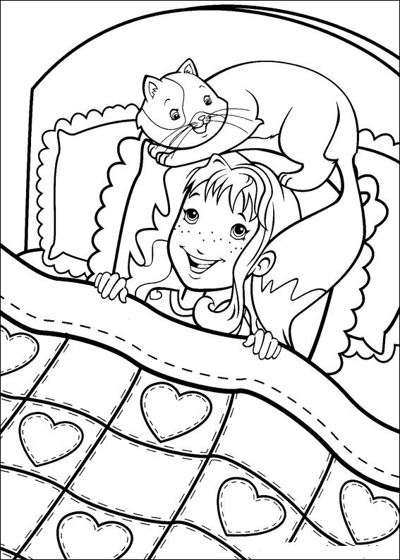 Holly hobbie kleurplaten for Holly hobbie coloring pages
