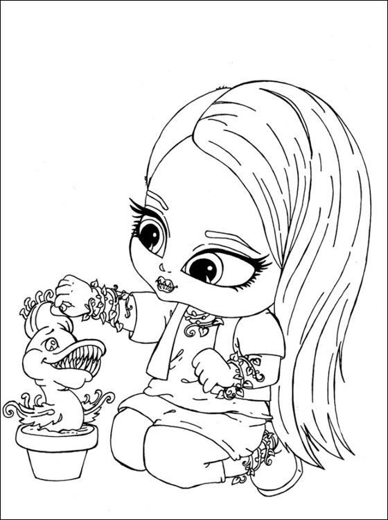 Monster High Kleurplaten Om Te Printen.Kleurplaat Tv Series Kleurplaat Monster High Animaatjes Nl