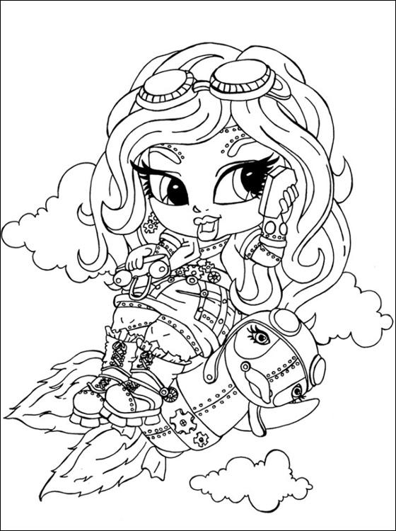 Kleurplaten Baby Monster High.Kleurplaat Tv Series Kleurplaat Monster High Animaatjes Nl