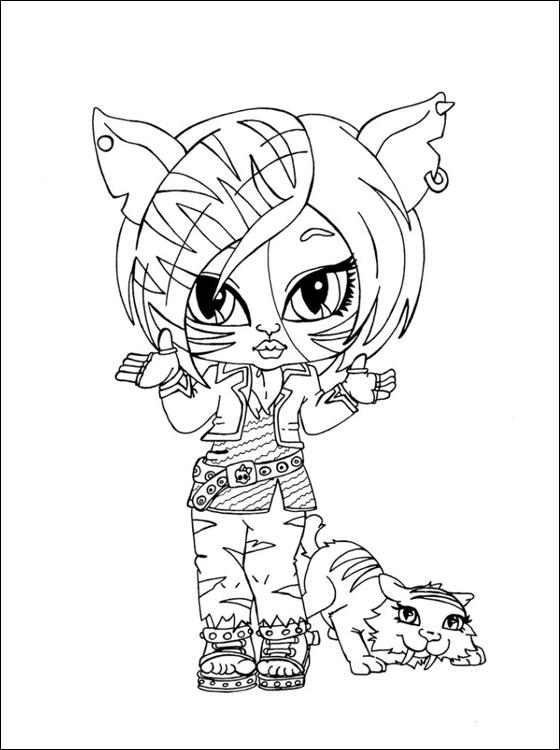 Monster High Kleurplaten Om Te Printen.Monster High Kleurplaten Vvp87 Agneswamu