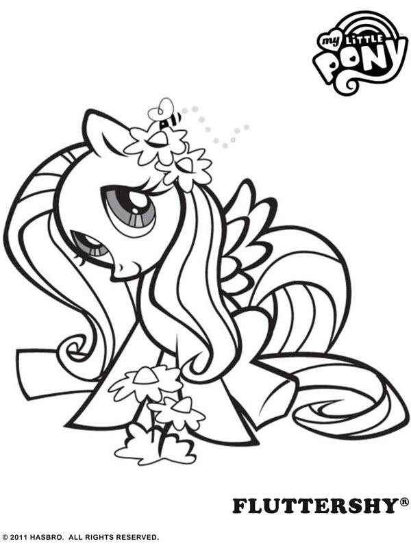 My Little Pony Kleurplaat Tv Series