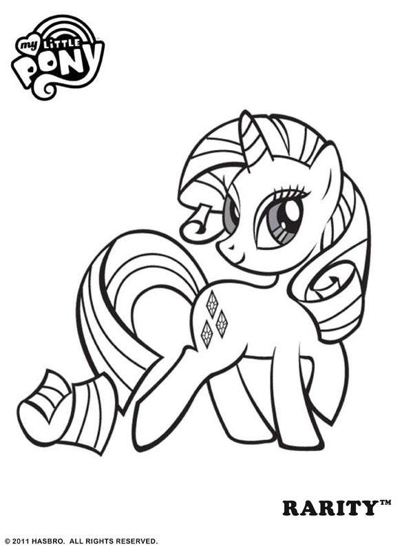 Kleurplaten Van My Little Pony.My Little Pony Kleurplaten Animaatjes Nl