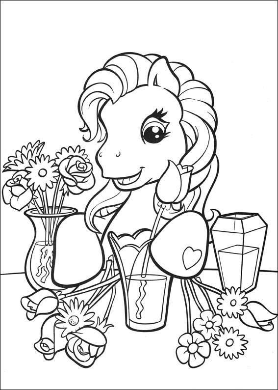 my pony kleurplaten tv series kleurplaten