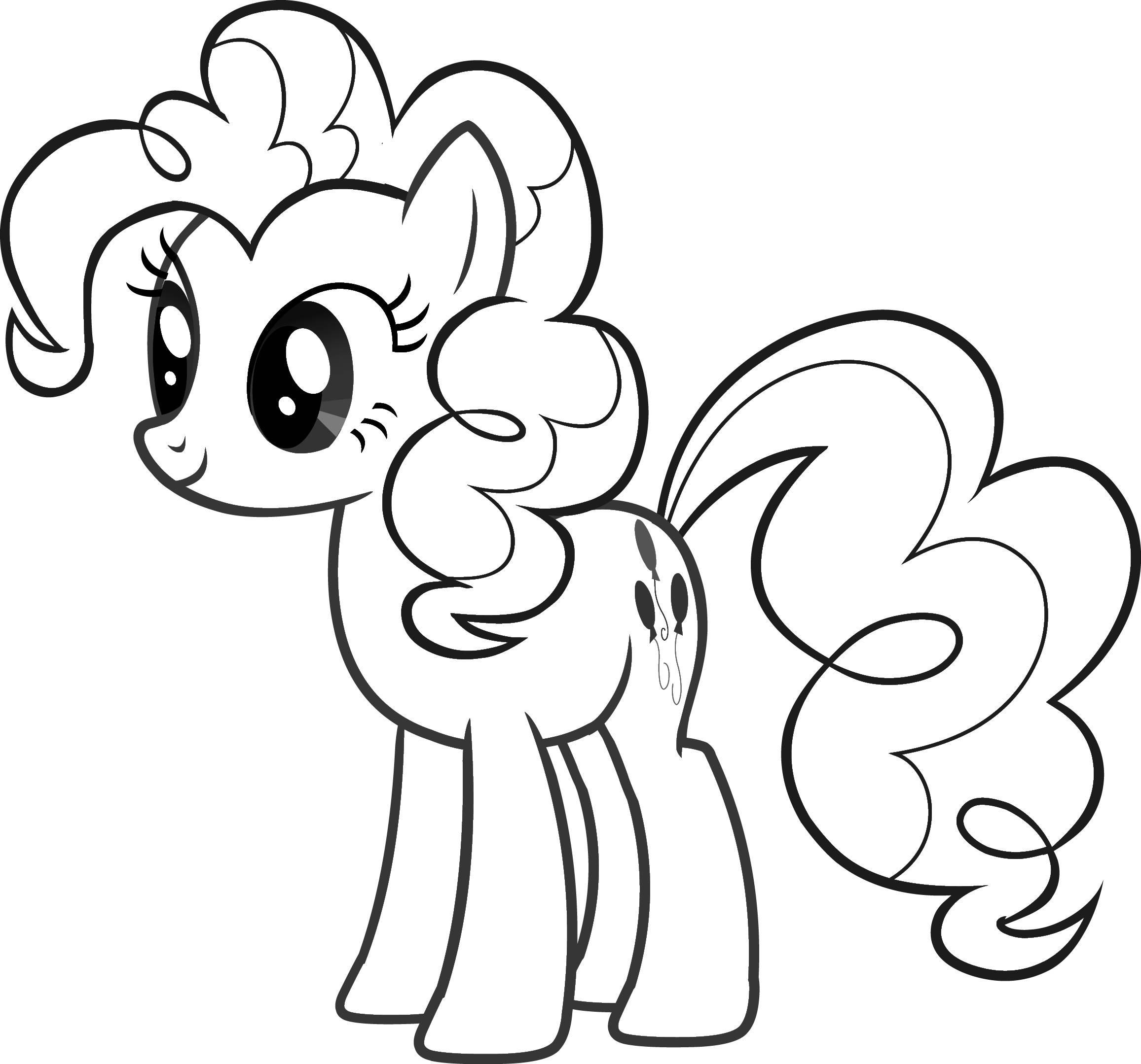 My little pony Kleurplaten Tv series kleurplaten