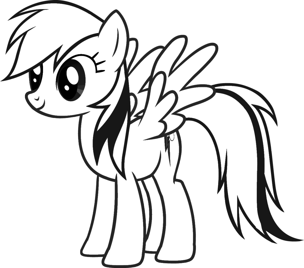 My Little Pony Kleurplaten 187 Animaatjes Nl