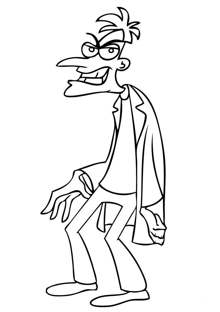 Kleurplaten Phineas Ferb Uitprinten.Kleurplaat Tv Series Kleurplaat Phineas And Ferb Animaatjes Nl