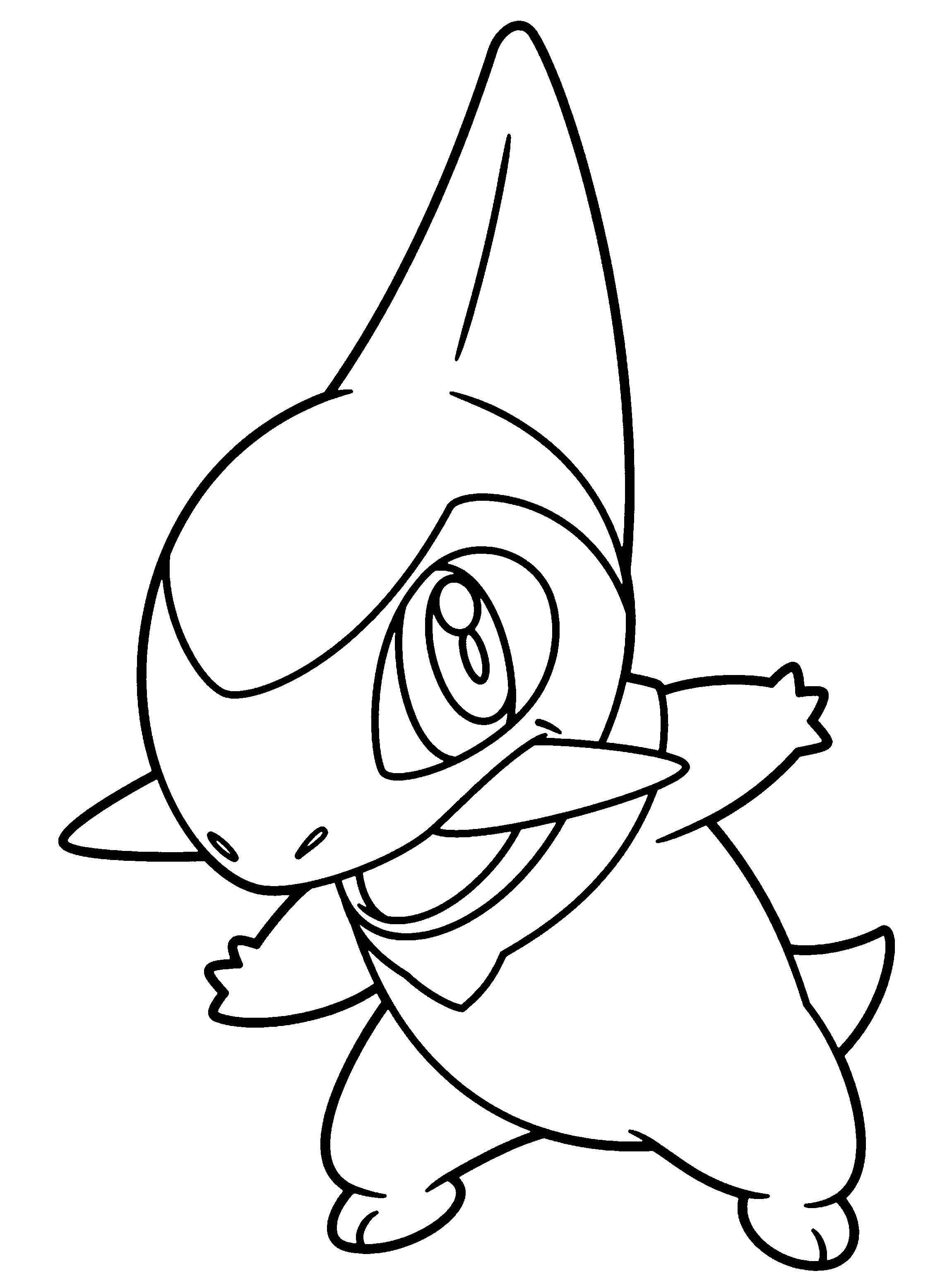 Mooi Kleurplaten Van Pokemon Black En White