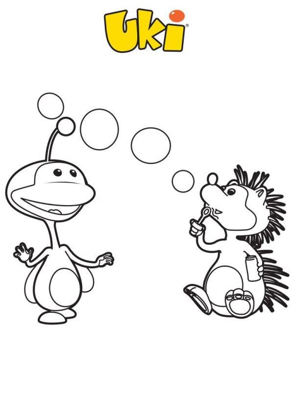 uki kleurplaten 187 animaatjes nl