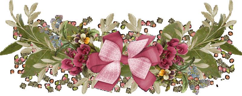 Resultado de imagen para gifs animados separadores flores